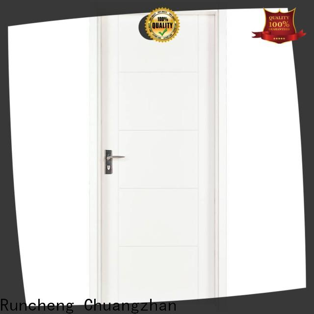 Runcheng Chuangzhan Top white mdf cabinet doors suppliers for hotels