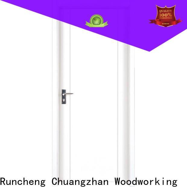 Runcheng Chuangzhan composited mdf composite wooden door company for villas