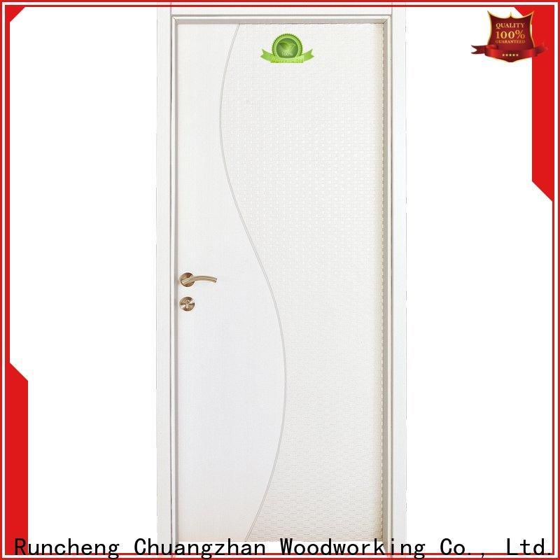 Runcheng Chuangzhan Wholesale mdf interior doors suppliers for indoor