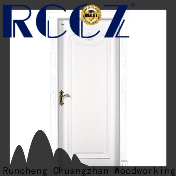 Runcheng Chuangzhan mdf solid mdf interior doors manufacturers for offices