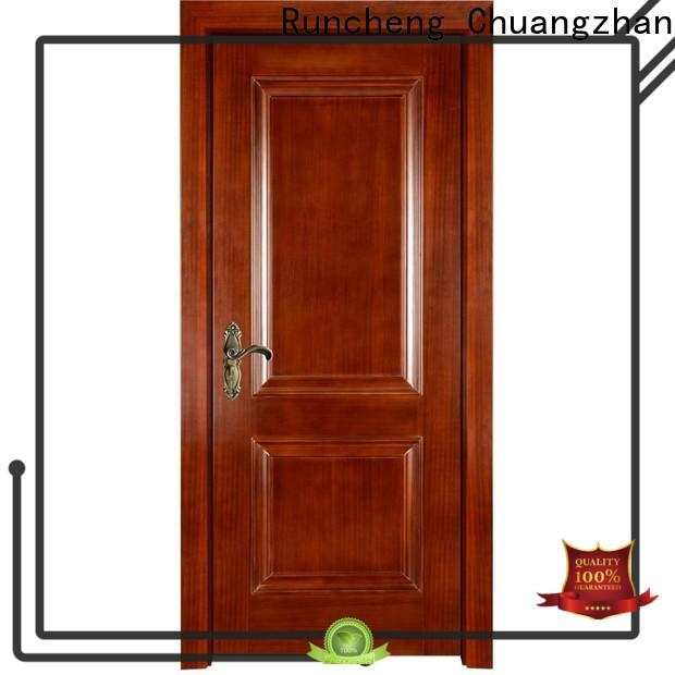 Wholesale solid wood composite doors supply for villas