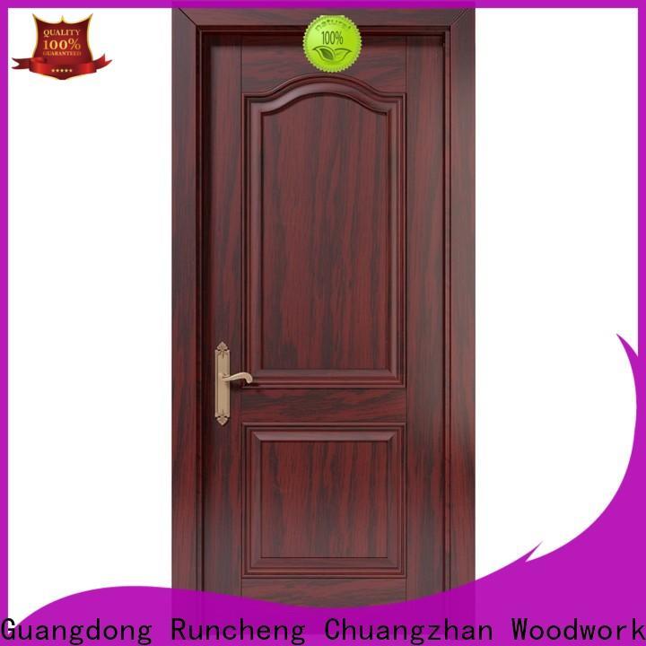 New solid composite wooden door modern company for indoor