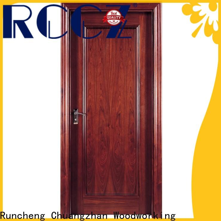 Runcheng Chuangzhan veneer rosewood composite door factory for homes