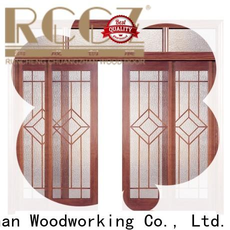 Runcheng Chuangzhan Latest solid composite wooden door supply for hotels