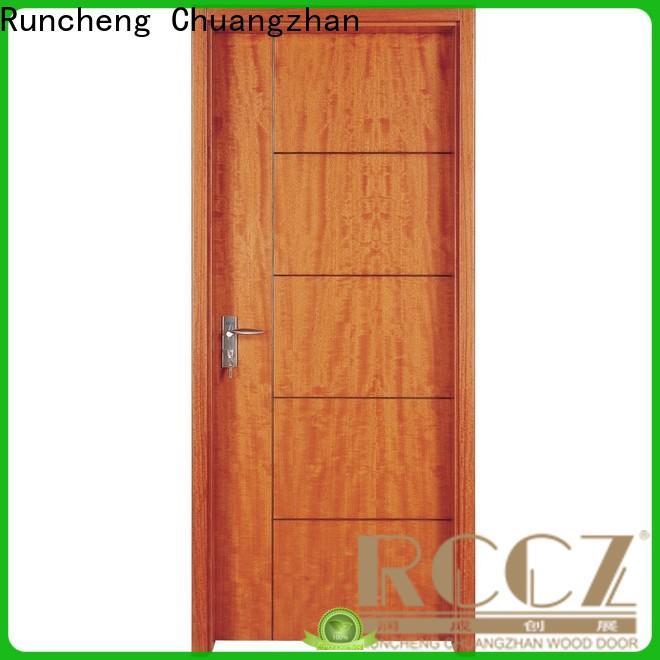 Runcheng Chuangzhan Best wood composite door supply for villas