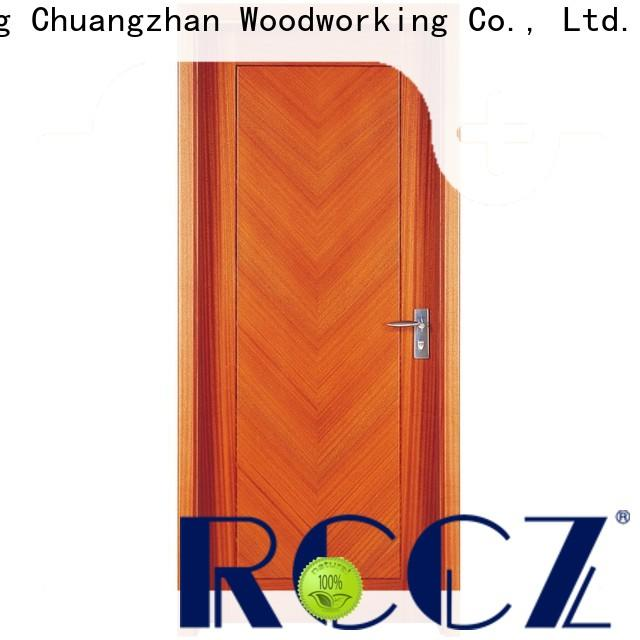Latest solid wood composite doors modern manufacturers for villas