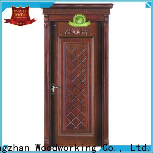 Runcheng Chuangzhan interior solid composite wooden door supply for villas