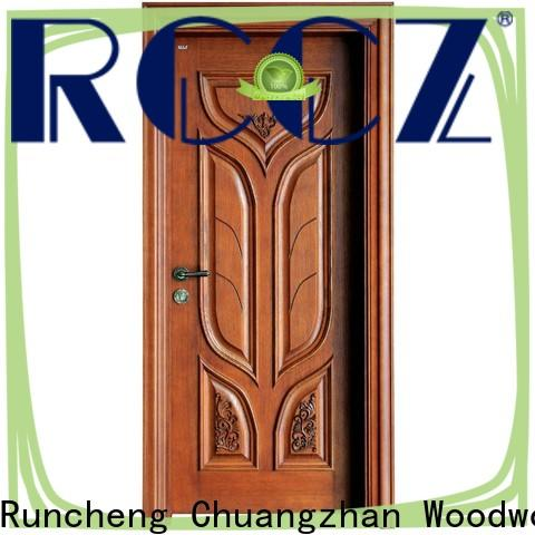 Runcheng Chuangzhan modern wooden moulded doors factory for hotels