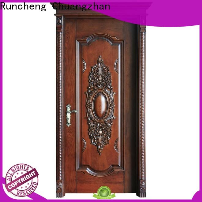 Runcheng Chuangzhan wooden wooden moulded doors suppliers for hotels