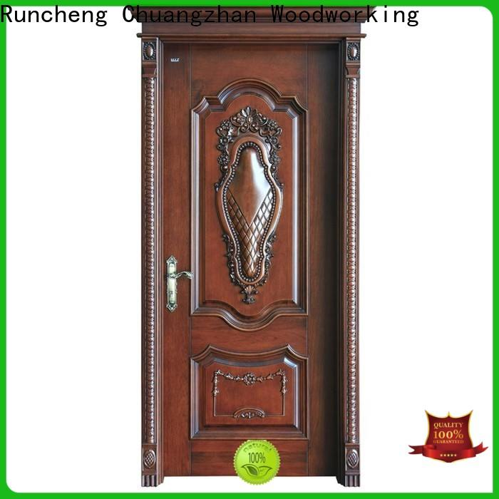 Runcheng Chuangzhan interior solid composite wooden door company for hotels