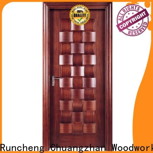 Runcheng Chuangzhan wooden moulded doors supply for offices