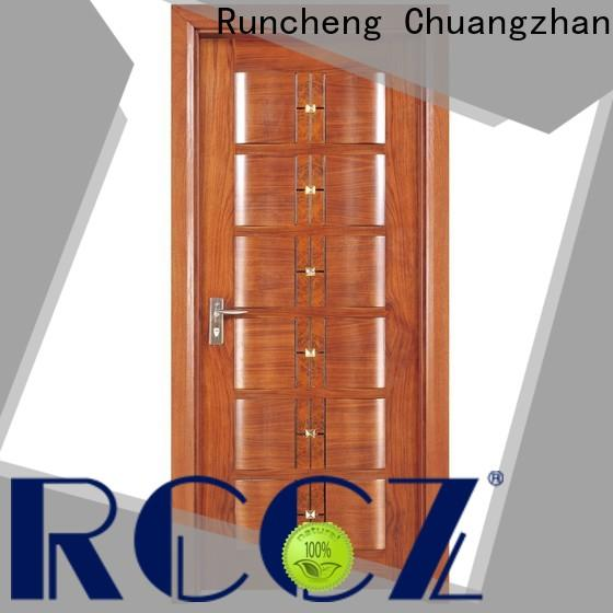 Runcheng Chuangzhan composited wood composite door factory for offices