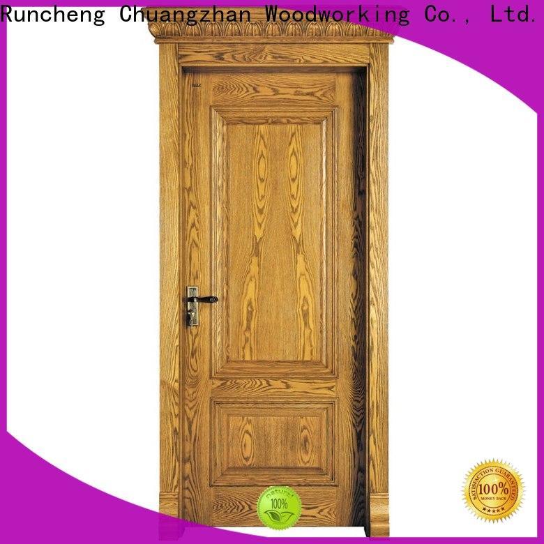 Runcheng Chuangzhan New rosewood composite door manufacturers for indoor