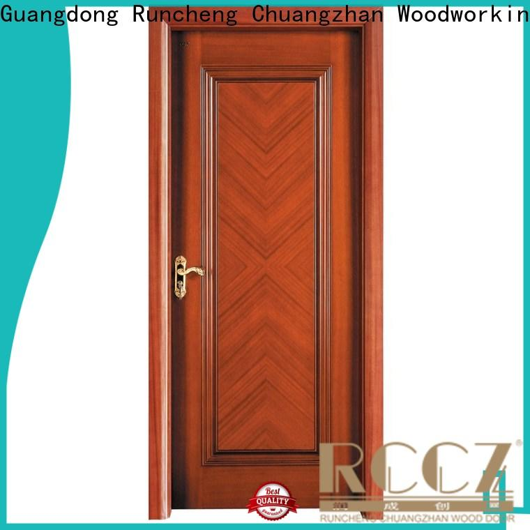 Runcheng Chuangzhan modern rosewood composite door for business for offices