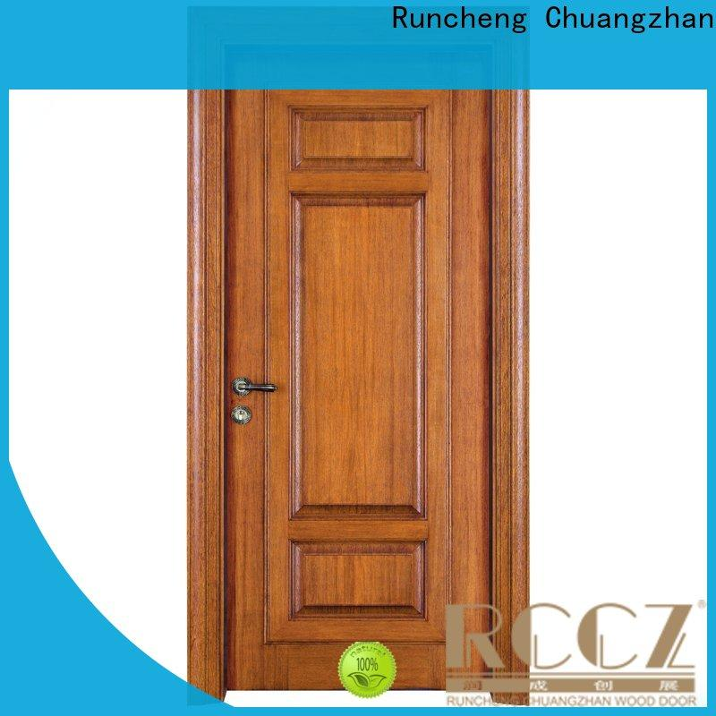 High-quality rosewood composite door composited supply for villas