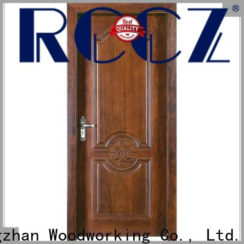 High-quality wood composite front doors supply for offices
