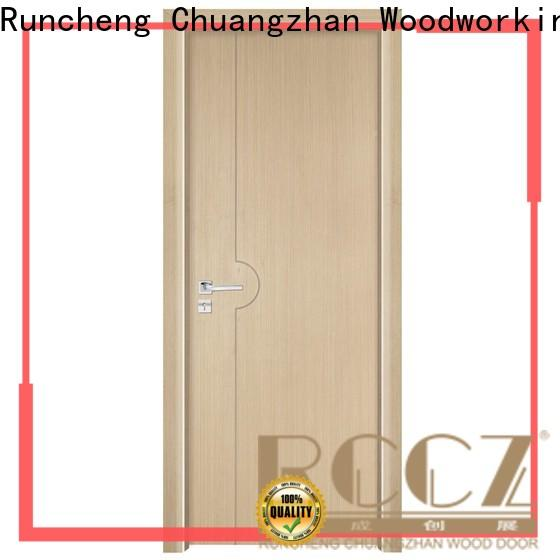 Wholesale wood effect composite door composited supply for hotels