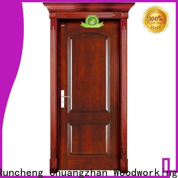 Runcheng Chuangzhan interior wood door manufacturers for business for indoor
