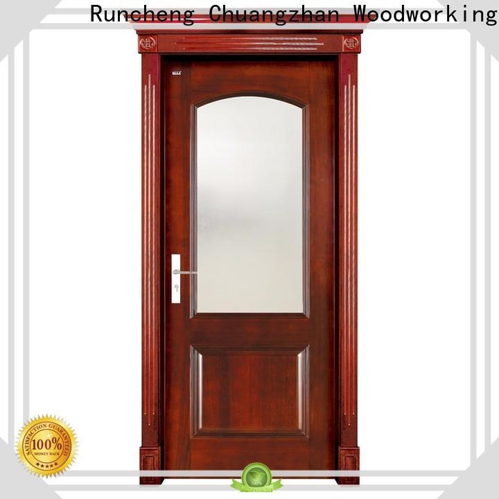 Runcheng Chuangzhan Custom solid wood interior doors company for indoor