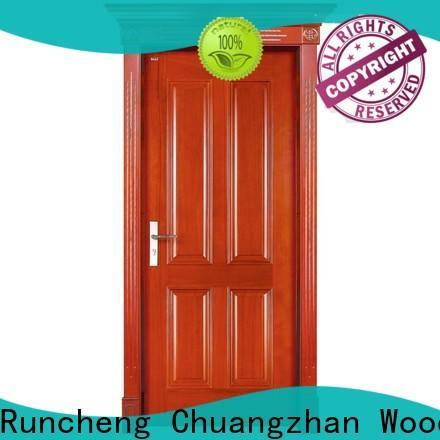 Runcheng Chuangzhan residential custom wood doors suppliers for hotels