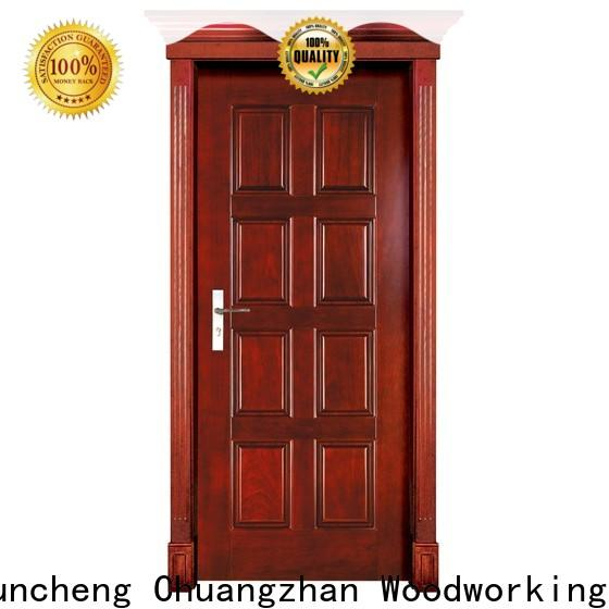 High-quality solid wood interior doors for sale door for business for indoor
