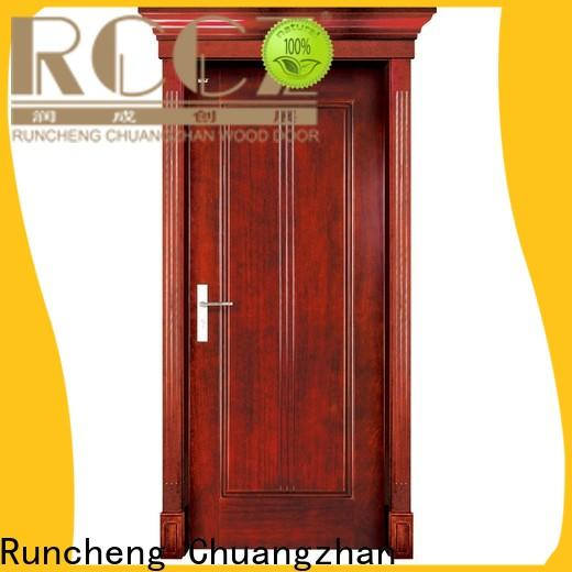 Runcheng Chuangzhan New solid wood doors factory for offices