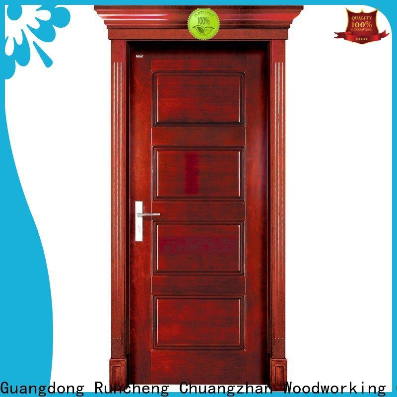Runcheng Chuangzhan Wholesale hardwood interior doors supply for villas