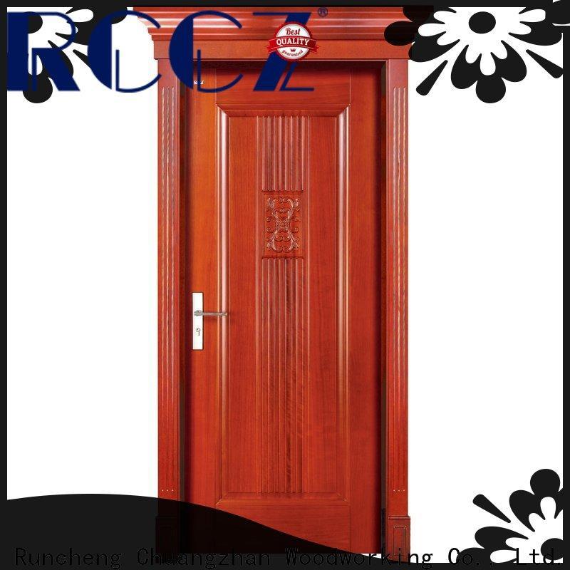 Runcheng Chuangzhan Best wood door manufacturers manufacturers for indoor