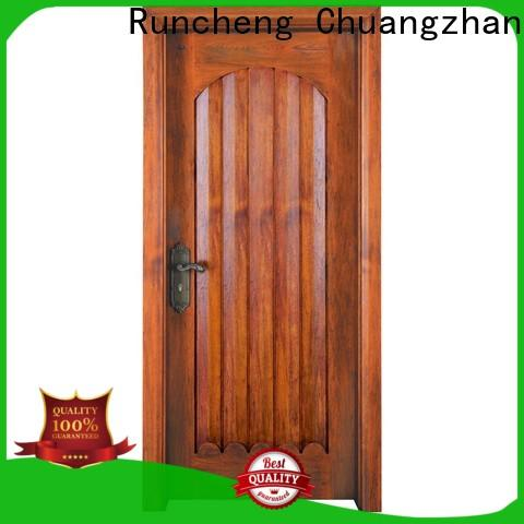 Runcheng Chuangzhan wooden interior wood doors for sale supply for villas