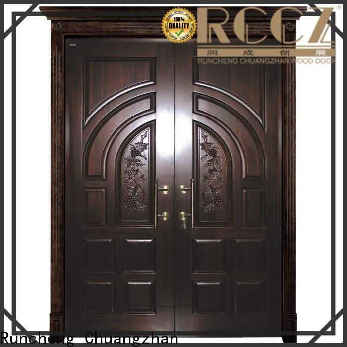 Runcheng Chuangzhan modern double entrance doors company for homes