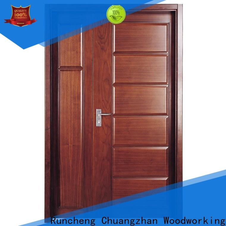 Custom double front entry doors design suppliers for hotels