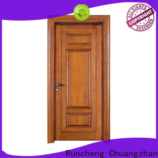 Runcheng Chuangzhan new wooden door for business for indoor