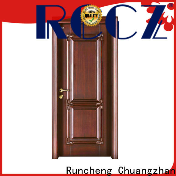 Runcheng Chuangzhan custom exterior doors company for hotels