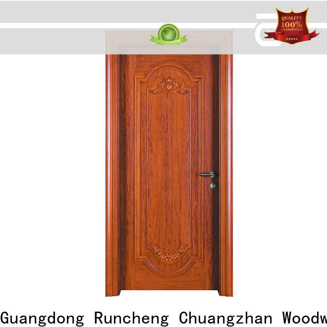 Runcheng Chuangzhan classic wood doors manufacturers for villas