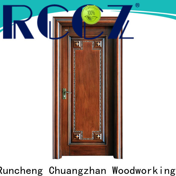 Runcheng Chuangzhan Wholesale solid wood exterior doors supply for indoor