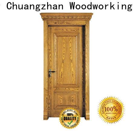 Runcheng Chuangzhan Best custom solid wood doors manufacturers for hotels