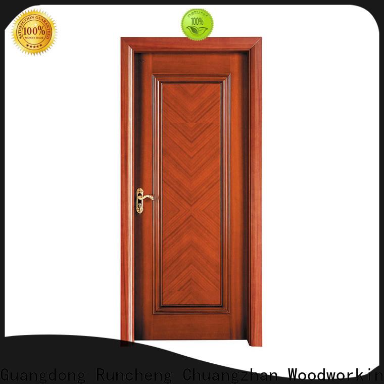 Runcheng Chuangzhan wood exterior door suppliers for homes