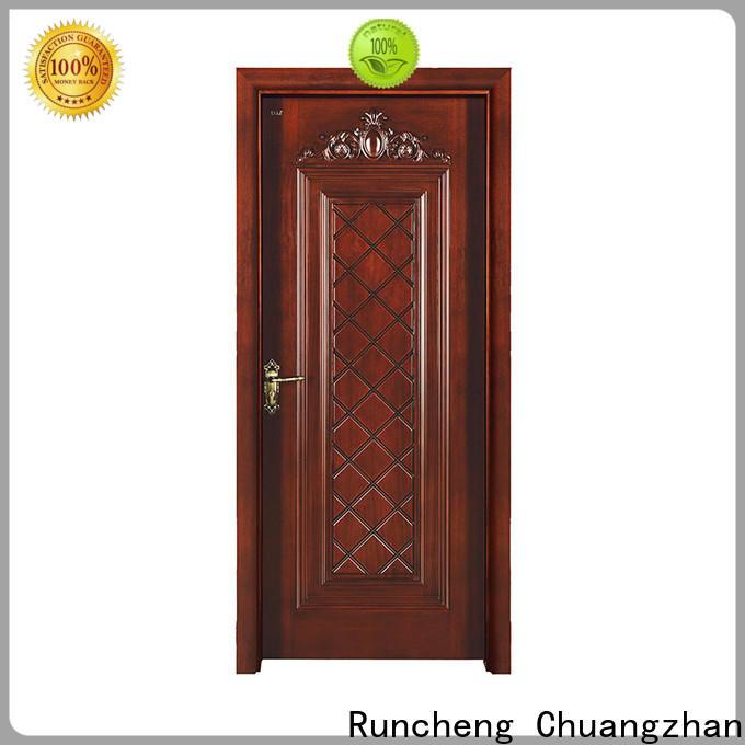 Runcheng Chuangzhan Top modern exterior doors suppliers for homes