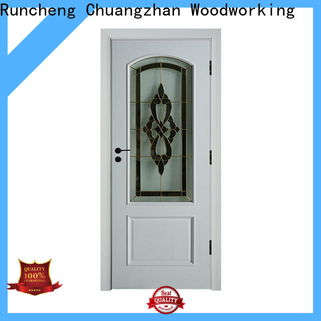 Custom exterior doors with glass factory for homes