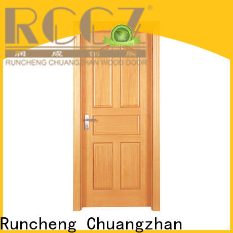 Runcheng Chuangzhan High-quality solid wood interior doors factory for hotels