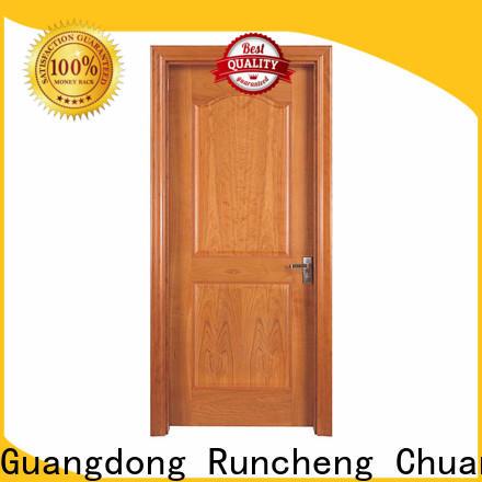 Custom solid wood interior doors factory for villas