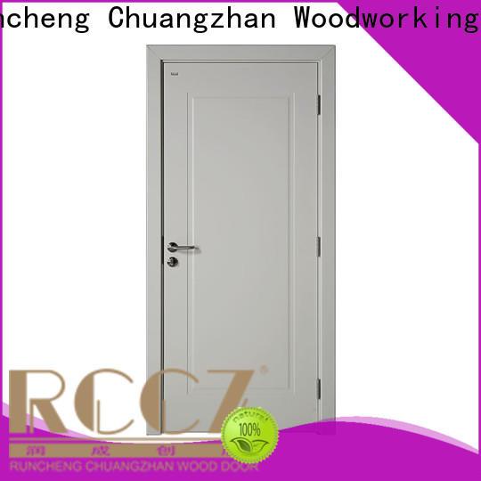 Runcheng Chuangzhan white wooden internal doors company for homes