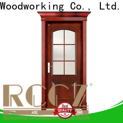 Best wooden door style supply for villas