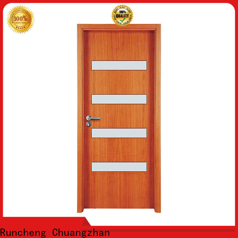 Runcheng Chuangzhan wooden door style supply for offices