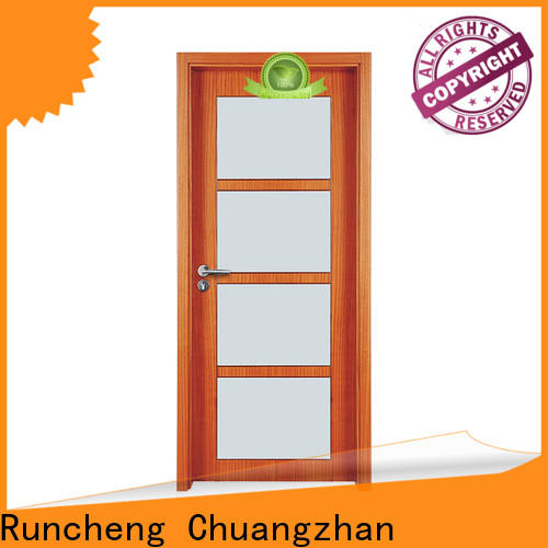 Runcheng Chuangzhan Custom glass exterior doors for business for offices