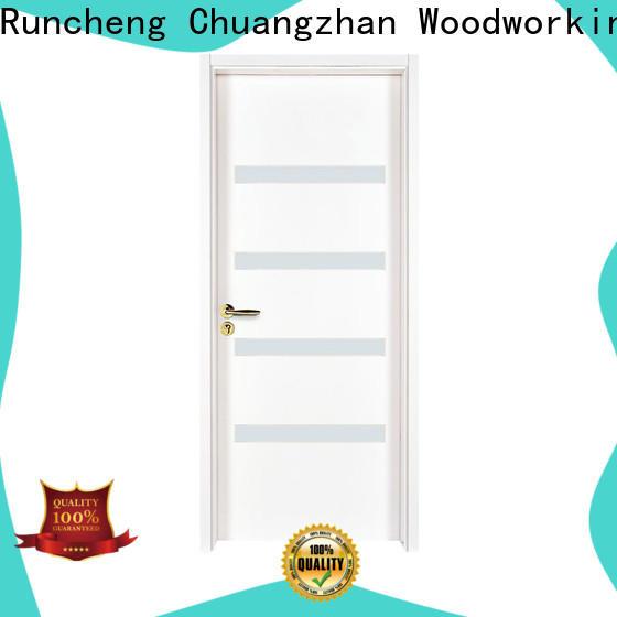 Runcheng Chuangzhan wooden glass exterior doors company for indoor