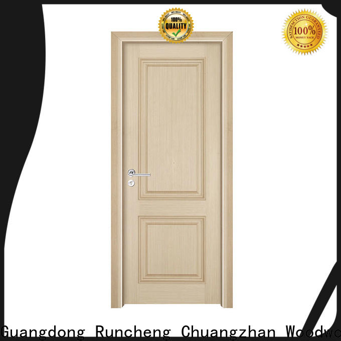 Runcheng Chuangzhan white internal wood doors factory for villas