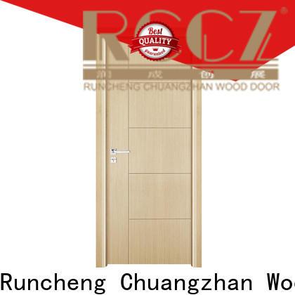 Runcheng Chuangzhan Best veneer interior door factory for hotels