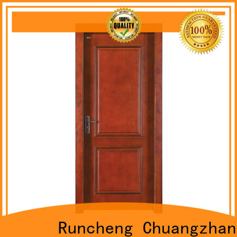 Wholesale modern solid wood interior doors factory for villas