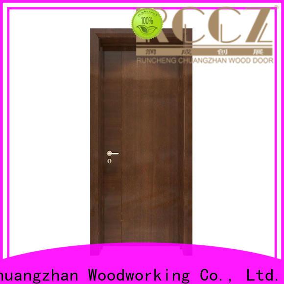 Runcheng Chuangzhan hardwood internal doors factory for offices